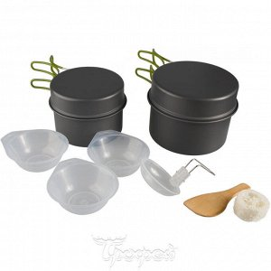 Набор посуды анодированный алюминий CAMPSOR-301