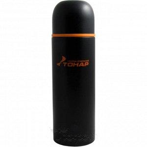 Термос HS.TM-025 1000ML черный (дополн.пласт.чашка) TONAR