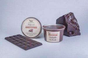 """Сахарный скраб для тела """"Шоколад"""""""