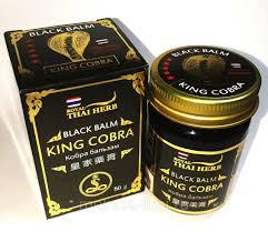 Черный бальзам Королевская Кобра Royal Thai Herb Black Balm King Cobra