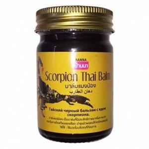 Тайский чёрный бальзам Cкорпион