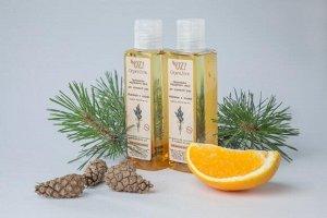 """Гидрофильное масло для нормальной кожи  """"Апельсин и сосна"""", 110 мл."""
