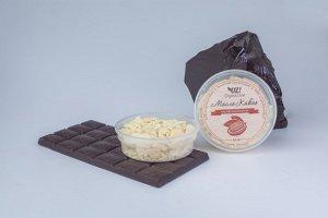Масло какао нерафинированное, 50 мл.