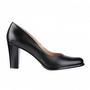 Туфли на устойчивом каблуке. Модель 2304