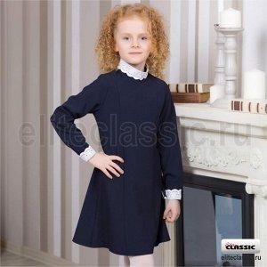 Платье школьное Синий