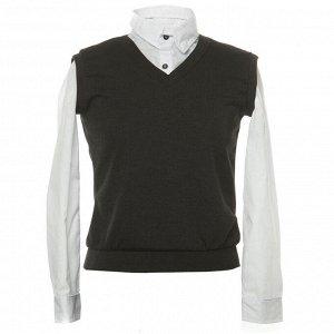 Комплект БШ Рубашка+жилет для мальч