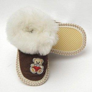 Чуни детские из овчины, Россия (ручная работа)