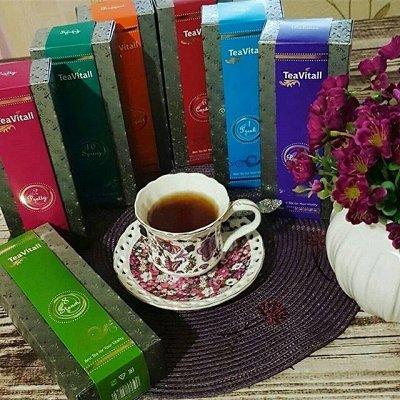 ✨GreenWay✨-32. Чисто без химии! — TeaVitall Функциональные чаи — Красота и здоровье