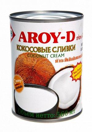 Кокосовый крем AROY-D  0,56л, ж\б  1*24