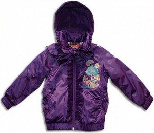 Куртка для девочки, фиолет