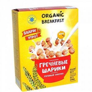 """Сухой завтрак """"Гречневые шарики"""" Компас здоровья"""