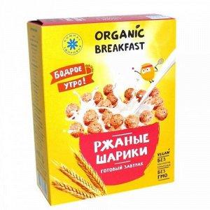 """Сухой завтрак """"Ржаные шарики"""" Компас здоровья"""