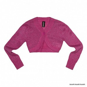 .Жакет для девочки розовый