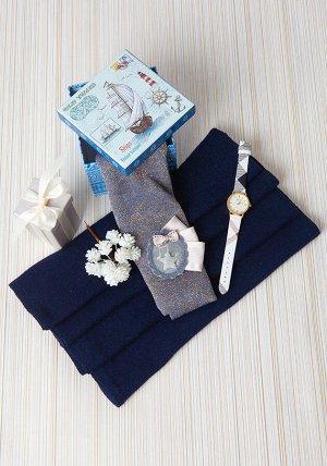 Нежный и теплый шарф цвета пудра
