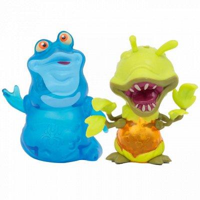 Gulliver - любимые игрушки! Распродажа — EXOGINI - фигурки инопланетян, аксессуары. Светятся в темнот — Игровые наборы