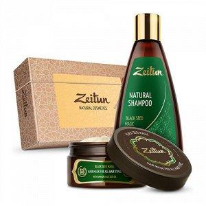 """Подарочный набор """"Магия чёрного тмина для оздоровления волос"""" Zeitun"""