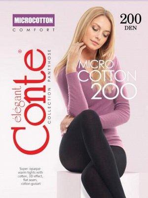 Колготки женские  MICROCOTTON 20018С-70СП