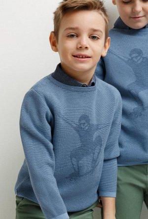 Джемпер детский для мальчиков Bari синий