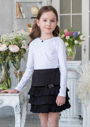 Школьная юбка Грета, цвет черный