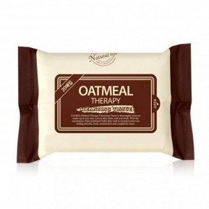 Calmia Oatmeal Therapy Cleansing Tissue очищающие салфетки  20шт