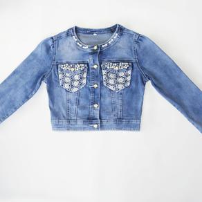 Куртка 131161-8 джинс