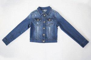 Куртка 133869-8 джинс