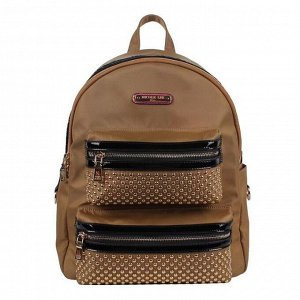 SOLID STUDDED BACKPACK