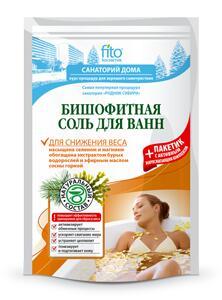 Бишофитная соль для ванны для снижения веса, 530г. /