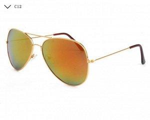 Американские солнце защитные очки Авиаторы. Современный дизайн.