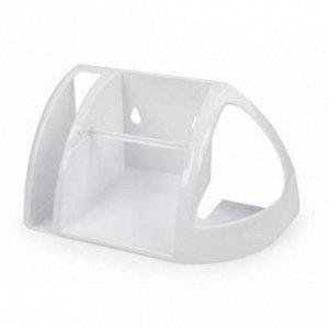 Полка д/туалета белая АС15201000