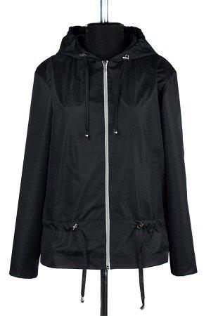 04-2207 Куртка ветровка демисезонная Плащевка черный