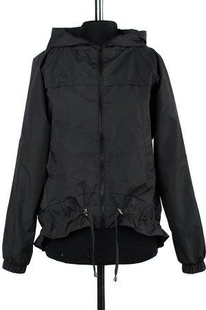 04-2203 Куртка ветровка демисезонная Плащевка черный