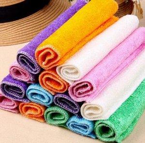 Чудо - салфетка из бамбука для мытья посуды без моющих средств