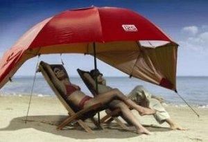 Зонт-палатка