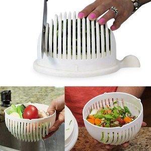 Овощерезка Salad Cutter Bowl, чаша для нарезки овощей/