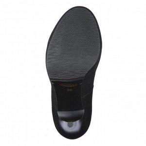 Замшевые туфли на высокой платформе. Модель 2226 замша