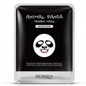 BIOAQUA ANIMAL PANDA Нежная маска-салфетка для лица