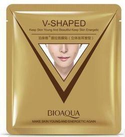 BIOAQUA  Трехмерная моделирующая  маска – салфетка для лица