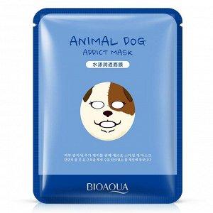 BIOAQUA ANIMAL DOG Аква маска-салфетка для лица