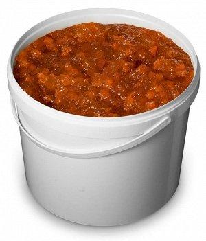 Персиковая начинка термостабильная 70% ягод К-70