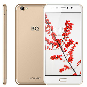 Смартфон BQ 5521L Rich Max, 3G, 16Gb + 1Gb Gold
