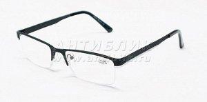 Добротные очки на металлической оправе