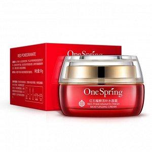 One spring Увлажняющий крем для лица с экстрактом красного граната