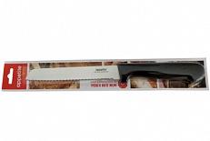 Нож Нож нерж Гурман д/хлеба 15см, в блистере ТМ Appetite общая длина 27см, длина лезвия 15см