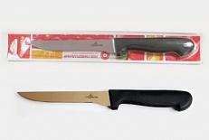 Нож Нож нерж Гурман универс 15см Нож из нержавеющей стали - размер общий 270 мм, длина лезвия 150 мм.