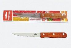 Нож Нож нерж Кантри  д/нарезки 11см, в блистере размер общий 21см, длина лезвия 11см, с зубчиками