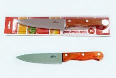 Нож Нож нерж Кантри  поварской 15см, в блистере размер общий 28см, длина лезвия 15см