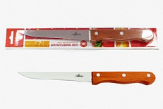 Нож Нож нерж Кантри  универс 15см, в блистере размер общий 27см, длина лезвия 15см