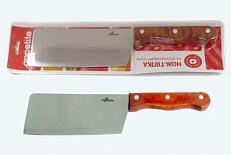 Нож Нож нерж Кантри тяпка 17см, в блистере размер общий 29см, длина лезвия 16,7см
