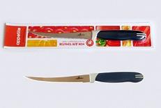 Нож Нож нерж Комфорт д/томатов 12,7см, в блистере размер общий 22см, длина лезвия 12,7см, с зубчиками
